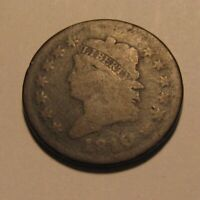 1810 CLASSIC HEAD LARGE CENT PENNY   CIRCULATED CONDITION   165SA