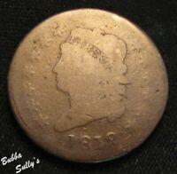 1812 CLASSIC HEAD LARGE CENT <> GOOD