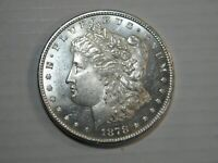 1878-S MORGAN DOLLAR CHOICE BU SEMI PROOF-LIKE PQ COIN