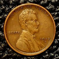 ITM-3094 1917-S LINCOLN CENT  EXTRA FINE  CNDTN  $20 ORDER SHIP FREE