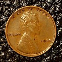 ITM-2996 1927-P LINCOLN CENT  AU CNDTN  $20 ORDERS SHIP FREE