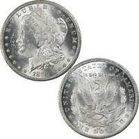 1880 CC REV 79 MORGAN DOLLAR BU UNCIRCULATED MINT STATE 90 SILVER $1 US COIN