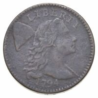 1794 LIBERTY CAP LARGE CENT - CIRCULATED 0520