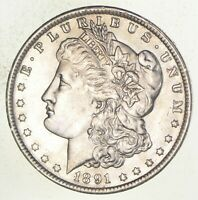 1891-O MORGAN SILVER DOLLAR 3534