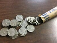ROLL OF 40 OLD BUFFALO/INDIAN HEAD NICKELS  ALL WITH READABL