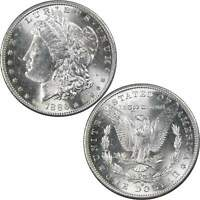 1886 S MORGAN DOLLAR BU UNCIRCULATED MINT STATE 90 SILVER $1 US COIN