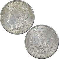 1888 S MORGAN DOLLAR AU ABOUT UNCIRCULATED 90 SILVER $1 US COIN COLLECTIBLE