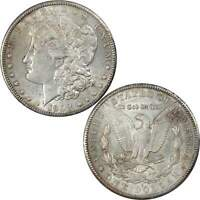 1902 S MORGAN DOLLAR AU ABOUT UNCIRCULATED DETAILS 90 SILVER $1 US COIN