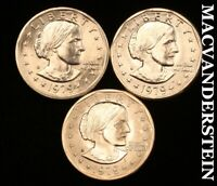 1979 P D S SUSAN B ANTHONY DOLLARS GEM BRILLIANT UNCIRCULATE