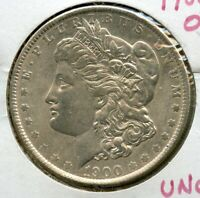 1900-O MORGAN SILVER DOLLAR $1 COIN NEW ORLEANS MINT US UNCIRCULATED - JJ897