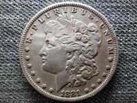 US MORGAN 1 DOLLAR .900 SILVER COIN 1881 O