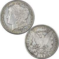 1886 S MORGAN DOLLAR AU ABOUT UNCIRCULATED 90 SILVER $1 US COIN COLLECTIBLE