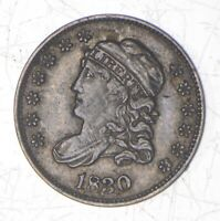 1830 CAPPED BUST HALF DIME - LM-3 6947