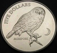 NEW ZEALAND 5 DOLLARS 1999   MOREPORK   UNC   1696