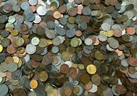 10 LBS FOREIGN COINS / WORLD COINS POUNDAGE   SMALL & TINY C