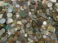 HUGE 10 LBS OF DAMAGED & CULL FOREIGN / WORLD COINS & US TOK