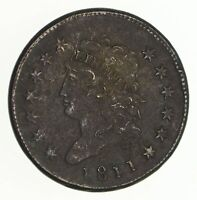 1811 CLASSIC HEAD LARGE CENT - CIRCULATED 4720