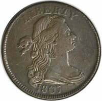 1807 LARGE CENT EF UNCERTIFIED