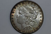 1886-P VAM 1A LINE IN '6' MORGAN 90 SILVER DOLLAR ABOUT UNCIRCULATED MDX4306
