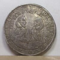 GERMANY SAXE OLD GOTHA TALER 1617 VF/EXTREMELY FINE