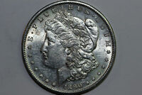 1890-S MORGAN 90 SILVER DOLLAR GRADES ABOUT UNCIRCULATED MDX4349