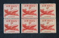 CKSTAMPS: US AIR MAIL STAMPS COLLECTION SCOTTC37 C41 MINT NH