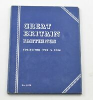 1902 1936   GREAT BRITAIN FARTHINGS   COLLECTION SET LOT ALB
