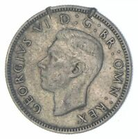 ROUGHLY SIZE OF QUARTER 1941 GREAT BRITAIN 1 SHILLING WORLD