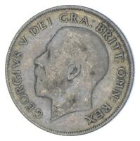 ROUGHLY SIZE OF QUARTER 1921 GREAT BRITAIN 1 SHILLING WORLD