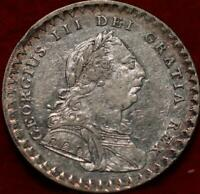1811 BANK OF ENGLAND 18 PENCE SILVER FOREIGN COIN
