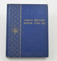 20TH CENTURY GREAT BRITAIN MINOR TYPE SET W/ SILVER COLLECTI