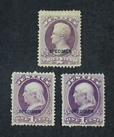 CKSTAMPS: US STAMPS COLLECTION SCOTTO25S O26S UNUSED H NG SP