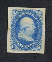 CKSTAMPS: US STAMPS COLLECTION SCOTT63P3 UNUSED LH NG PROOF