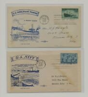 US   2 FDC'S LOT  95