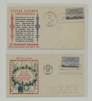 US   2 FDC'S LOT  96