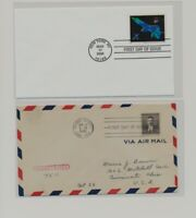 US   2 FDC'S LOT  106
