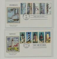 US   2 FDC'S LOT  110