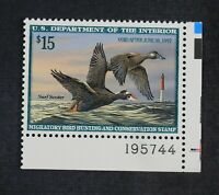 CKSTAMPS: US FEDERAL DUCK STAMPS COLLECTION SCOTTRW63 $15 MI