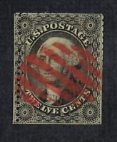CKSTAMPS: US ERROR EFO FREAKY STAMPS COLLECTION SCOTT36 USED