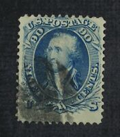 CKSTAMPS: US STAMPS COLLECTION SCOTT72 90C WASHINGTON USED C