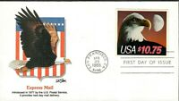 US SC2122 FDC EAGLE EXPRESS MAIL STAMP 1985