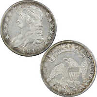 1811/10 18.11 CAPPED BUST HALF DOLLAR VF/EXTRA FINE  DETAILS 89.24 SILVER 50C US COIN