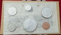 1963 SILVER 1.11OZ ASW CANADA 6 COIN PROOF LIKE SET RCM SEAL