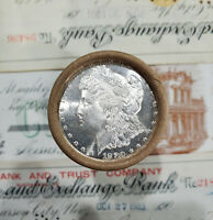 20 COIN BU MORGAN SILVER DOLLAR ROLL   PROOF LIKE 1880 AND C