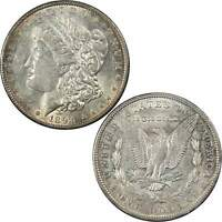 1894 O MORGAN DOLLAR AU ABOUT UNCIRCULATED DETAILS 90 SILVER $1 US COIN