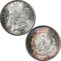 1887 MORGAN DOLLAR BU UNCIRCULATED MINT STATE 90 SILVER $1 US COIN TONED
