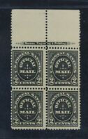 CKSTAMPS: US STAMPS COLLECTION SCOTTO125 BLOCK MINT NH OG