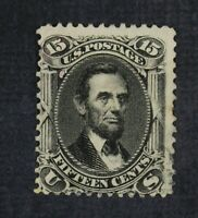 CKSTAMPS: US STAMPS COLLECTION SCOTT77 15C LINCOLN USED LIGH