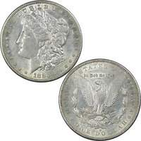 1883 S MORGAN DOLLAR EXTRA FINE /AU  FINE / ABOUT UNCIRCULATED 90 SILVER $1