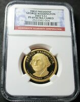 2007 S PROOF GEORGE WASHINGTON PRESIDENTIAL DOLLAR COIN   NG